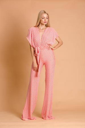 Candice High Cut Jumpsuit