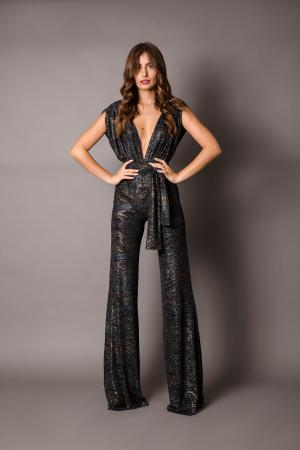 Zoi High Cut Jumpsuit