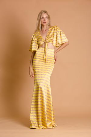 Havana Lemon Crochet Co-ord