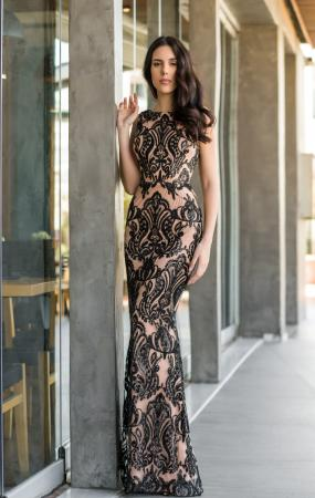 Anaya Fishtail Gown