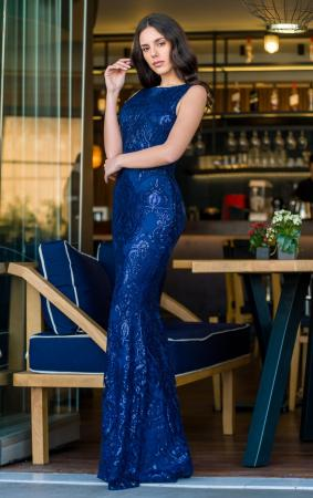Anaya Royal Blue Gown
