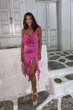 ANGEL Hot Pink dress