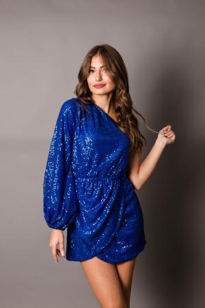 Juliet Blue Sequin Dress