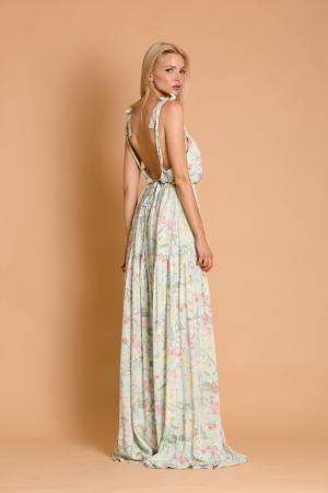 Lulu Blue Floral Gipsy Dress