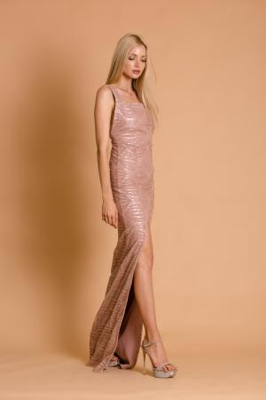 Morgan Glitter Maxi Dress
