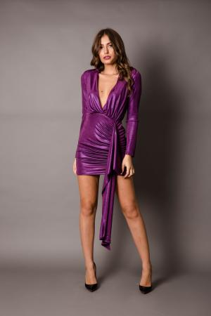 Naya Purple Lured Dress