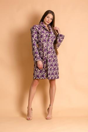 Purple Flower Dress/Jacket by CAELI
