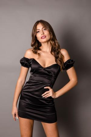 Bianca Satin Dress