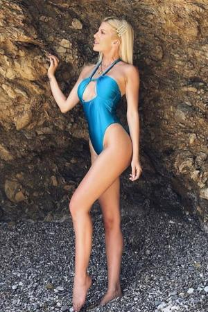 Petrol Swimsuit by CAELI