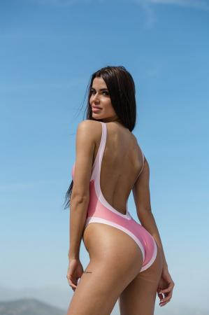 Pink Swimsuit by CAELI