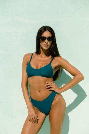 Teal Highwaisted Bikini by NATTY
