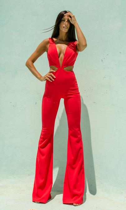 Isis Fire Jumpsuit by NATTY | Ολόσωμες Φόρμες - Clothing |