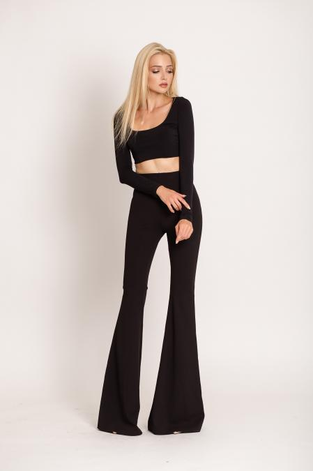 Natty Classic Flare Pants by NATTY | Παντελόνια / Κολάν -